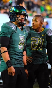 Jeremiah Masoli and JaMichael James